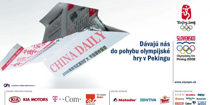 Slovak olympic team - Beijing 2008