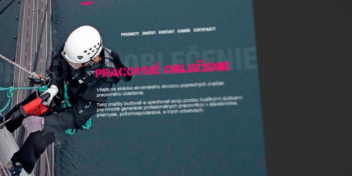 Pracovné oblečenie Website