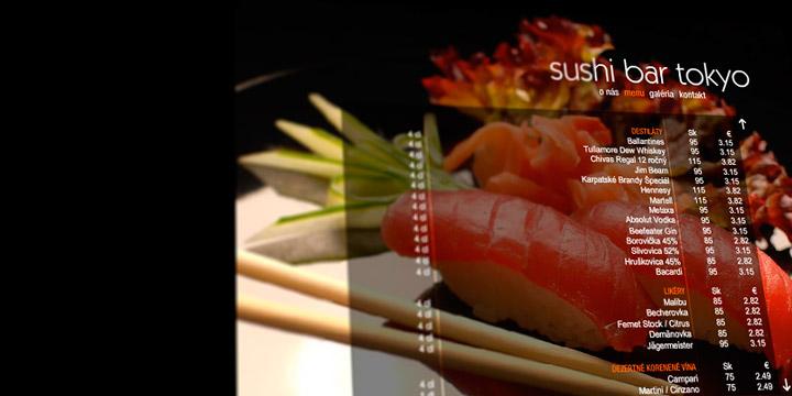Sushi Bar Tokyo Website